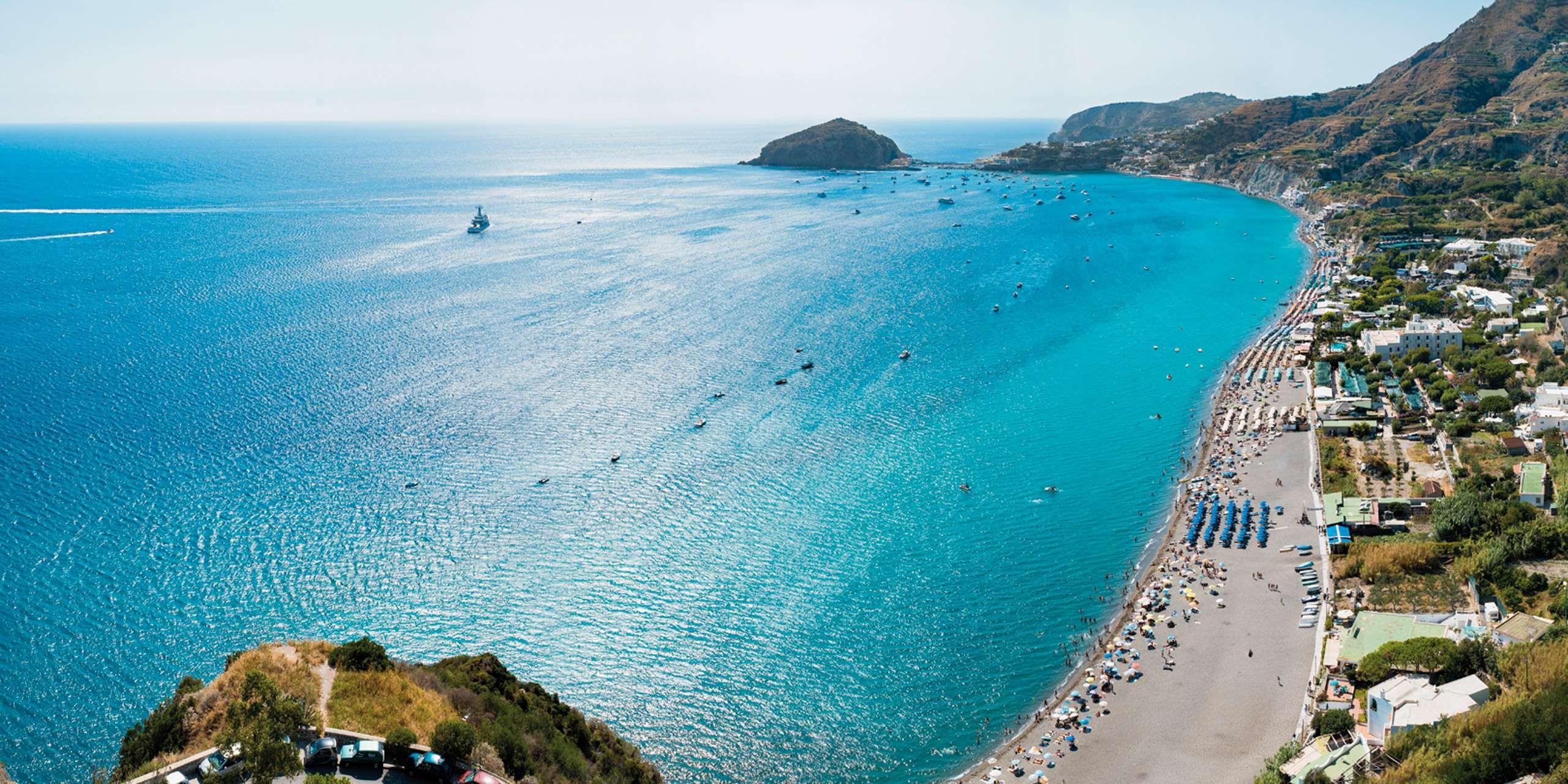 La spiaggia Villa Maria mare