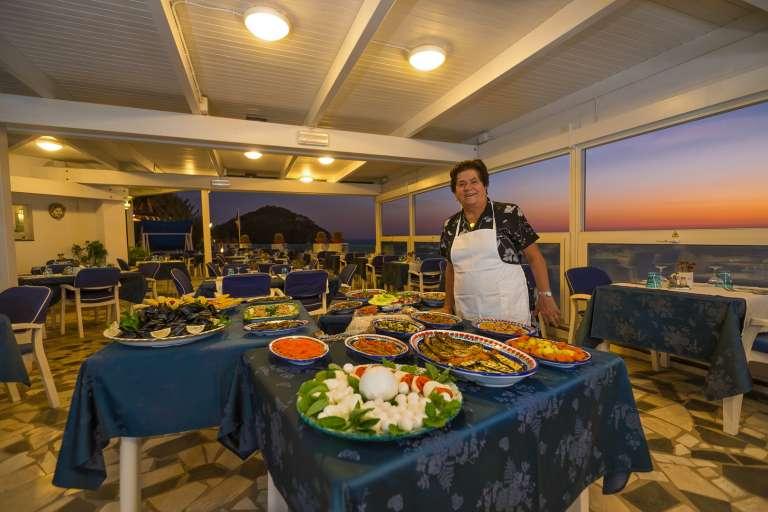 Il ristorante e la cucina